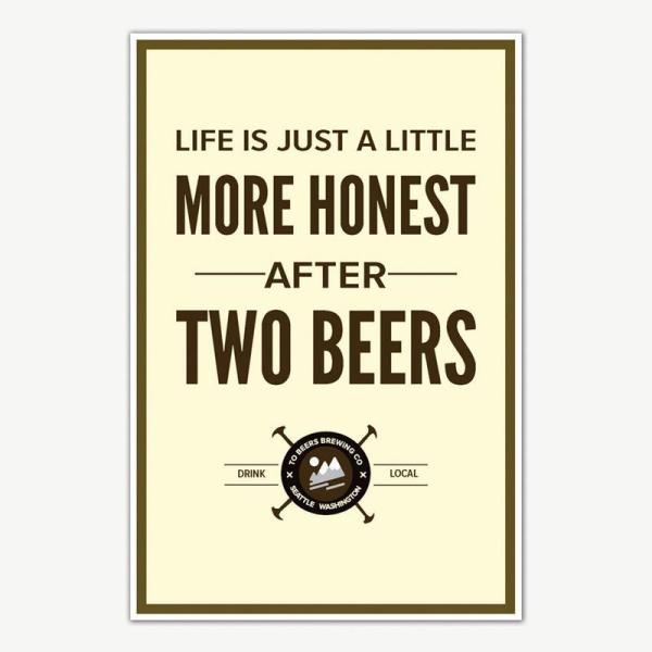 Beer Poster Art   Funny Posters For Room