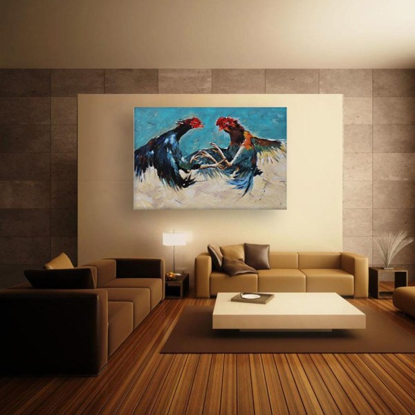 Canvas Painting - Beautiful Birds Wall Painting for Living Room