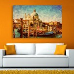 Canvas Painting - Beautiful Ships Art Wall Painting for Living Room