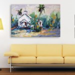 Canvas Painting - Beautiful Nature Modern Art Wall Painting for Living Room