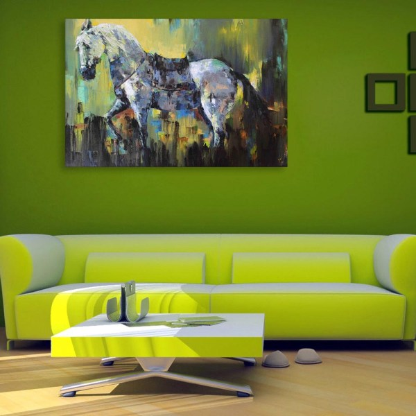 Canvas Painting - Beautiful Horse  Art Wall Painting for Living Room