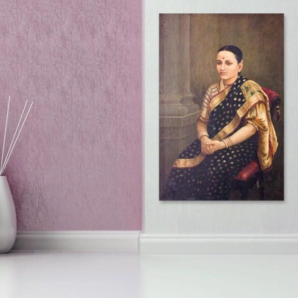 Canvas Painting - Raja Ravi Varma Painting - Wall Painting for Living Room