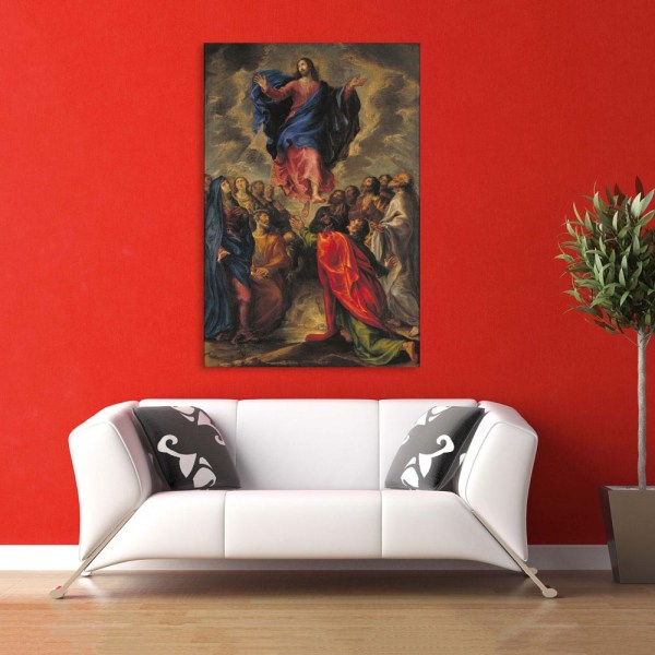 Canvas Painting - Beautiful Jesus Art Wall Painting for Living Room