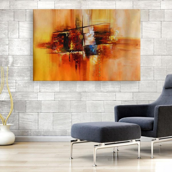 Canvas Painting - Modern Abstract Art Wall Painting for Living Room