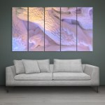 Multiple Frames Beautiful Snow Wall Painting for Living Room