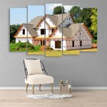 Multiple Frames Beautiful House Wall Painting for Living Room