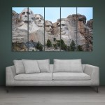 Multiple Frames Mount Rushmore Wall Painting for Living Room