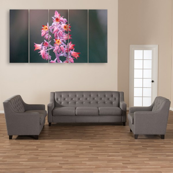 Multiple Frames Beautiful Flower Plant Wall Painting for Living Room