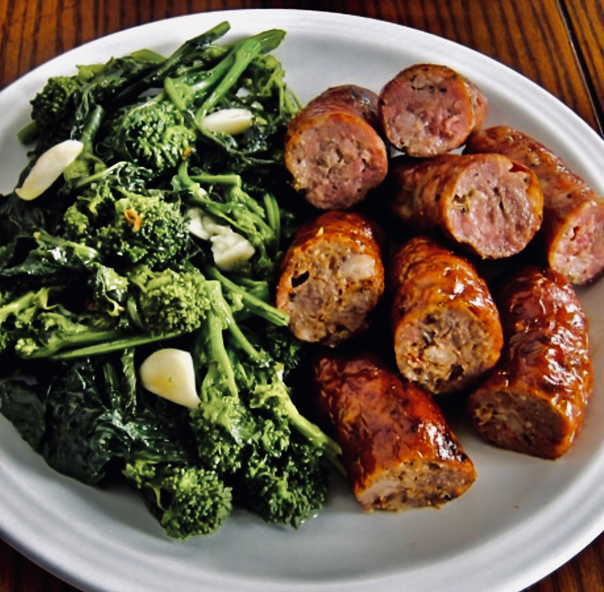 broccoli rabe with chicken