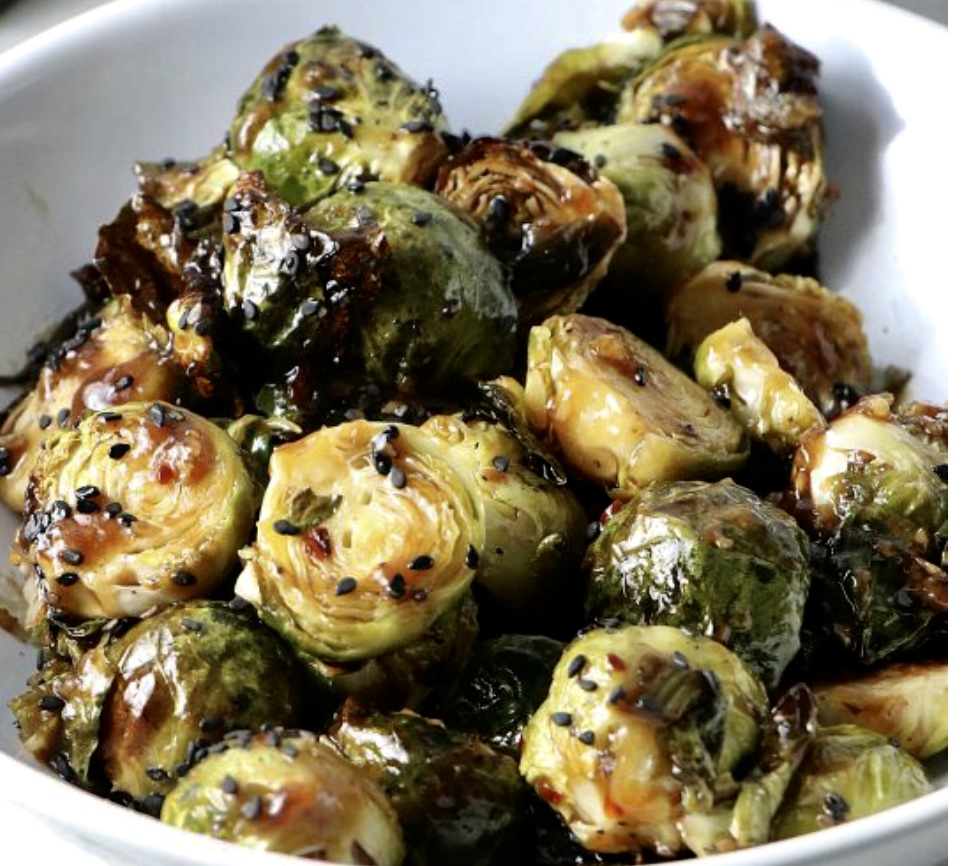 bbq brussels sprouts