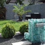 Fontana Ornamentale con Gabbioni per Arredo Giardino