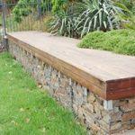 Panchina per Giardini realizzata con Gabbioni Metallici