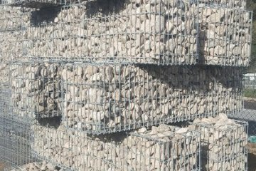 gabbioni arredo architettura