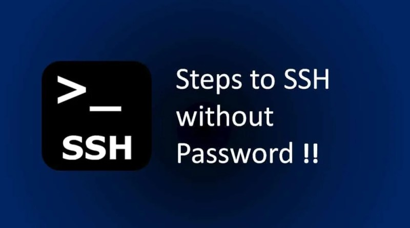 steps-to-ssh-without-password