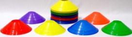 6 color half cones