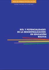 Rol y Potencialidades de La Descentralización en Educación Bolivia