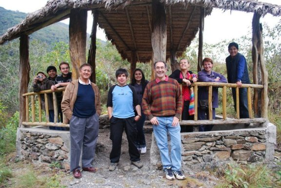Participants at the REDD Game launch workshop near Coroico, Bolivia, August 2010. Includes: Martin Vargas, Joaquin Mayorga, Luis Carlos Jemio, Rafael Huanca, Nashira Calvo, Eduardo Forno, Ioulia Fenton, Lykke Andersen, Osvaldo Nina.