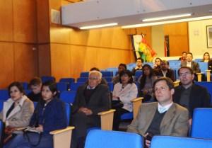 Público asistente al Quinto Taller Investigación Económica – Economics Research Workshop