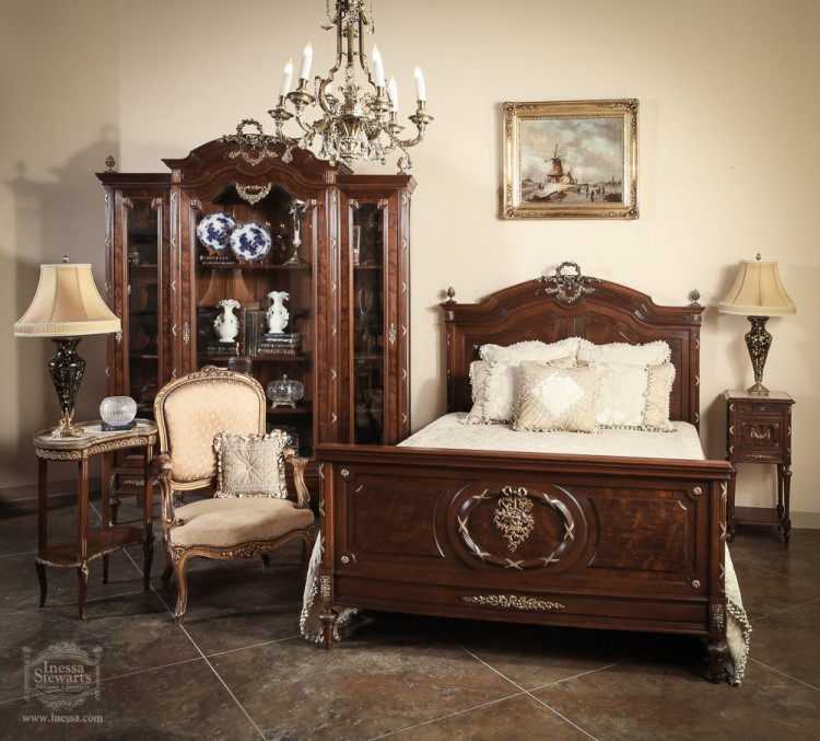 Antique of the Week  Antique French Louis XVI Bedroom Set