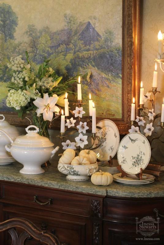 Autumn Antique Decorating  Antiques in Style