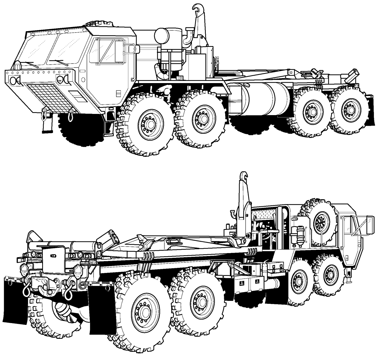 M977 Heavy Expanded Mobility Tactical Truck Hemtt