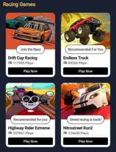 paytm first game app k racing game category