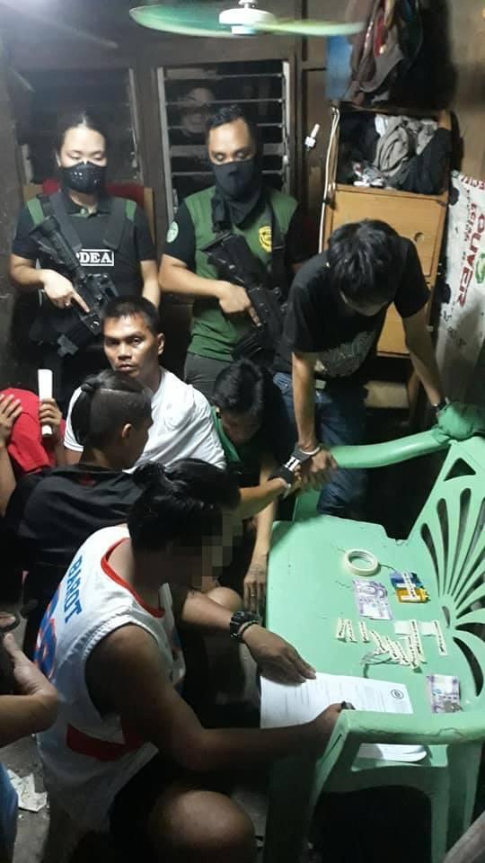 Drug Lair Dismantled, 5 Arrested in Cebu City1