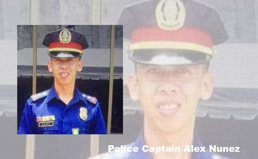 The late Police Captain Alex Nunez