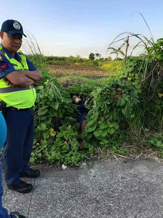 Lalaki gisalvage sa Bacoor Cavite2
