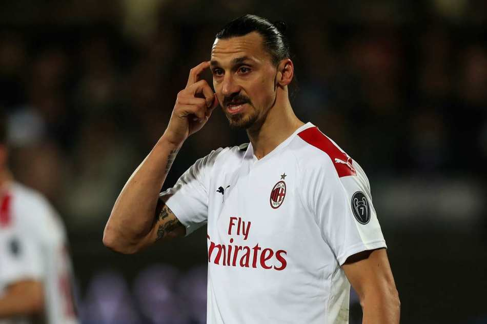 Infortunio Ibrahimovic
