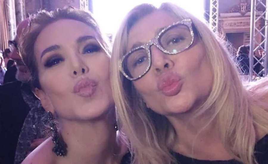 Le conduttrici televisive Mara Venier e Barbara D'Urso (foto Instagram).