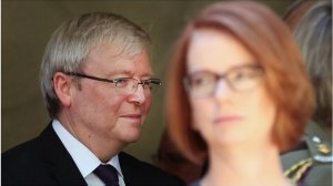 "Kevin Rudd: ""In 2007 the Australian people elected me to be their prime minister and that is a task I resume today with humility."""