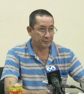TAAMOG Representative, Peter Persaud.