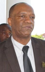 APNU's Executive Member, Joseph Harmon.