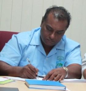 Head of the EPA, Dr. Indarjit Ramdass. [Photo: iNews]