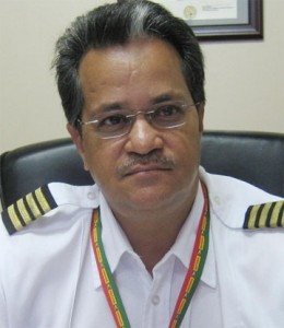 Chairman of the Governance and Security Committee of the Private Sector Captain Gerald Gouveia.
