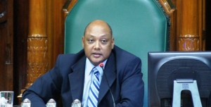 Speaker of the National Assembly, Raphael Trotman.