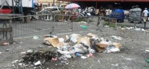 Dumping along Fair Weather Pathway