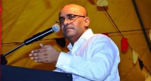 Former President, Bharrat Jagdeo.