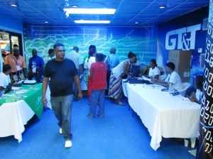 GT&T's Booth. [iNews' Photo]