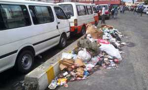 The current garbage situation at the Kitty/Campbellville Park . [iNews' Photo]
