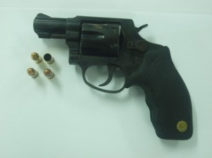 Firearm recovered at Liliendaal.