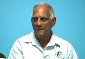 President of the Guyana Volleyball Federation, Lennox Shuffler
