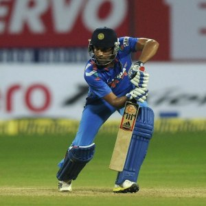 Rohit Sharma struck 72