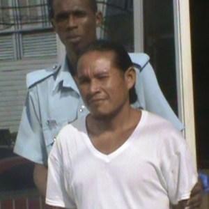 The accused Filton Hart