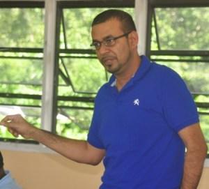 Minister of Natural Resources and the Environment, Robert Persaud. [Nickhail Jaundoo Photo]