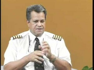 Chief Executive Officer (CEO) of Roraima Airways Captain Gerald Gouveia