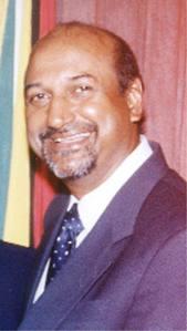 Acting Chancellor Carl Singh