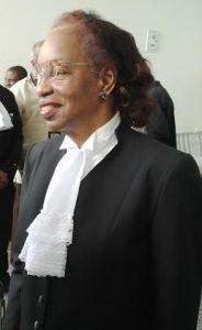Justice Desiree Bernard. [iNews' Photo]
