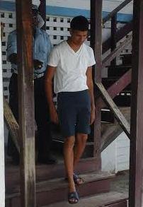 Hafraz Mangroo was remanded to prison. [iNews' Photo]